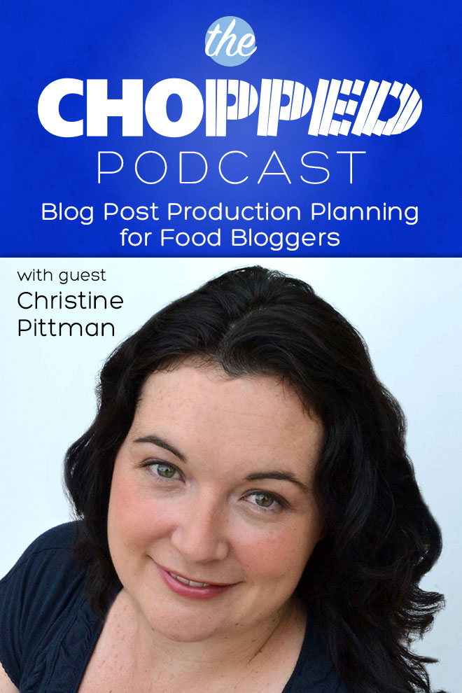 Christine Pittman is the next guest on the Chopped Podcast