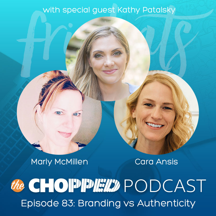 FriChats of the Chopped Podcast talking about Branding vs. Authenticity