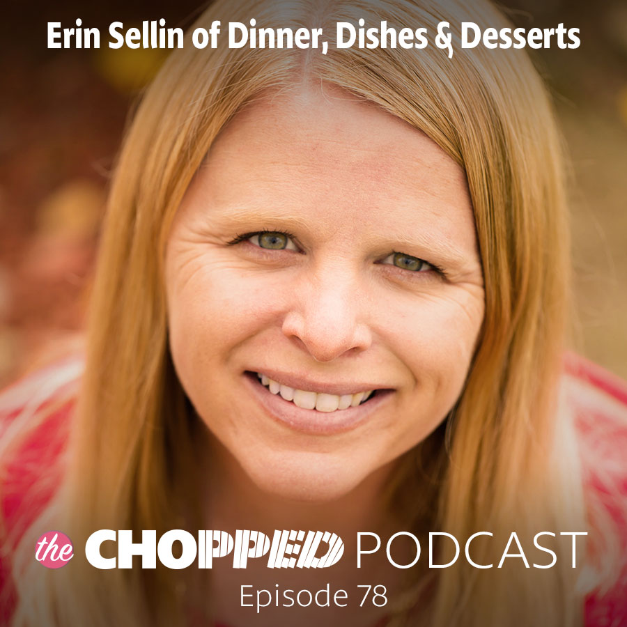 Today we're talking about How to Grow Your Facebook Page with Erin Sellins on the Chopped Podcast