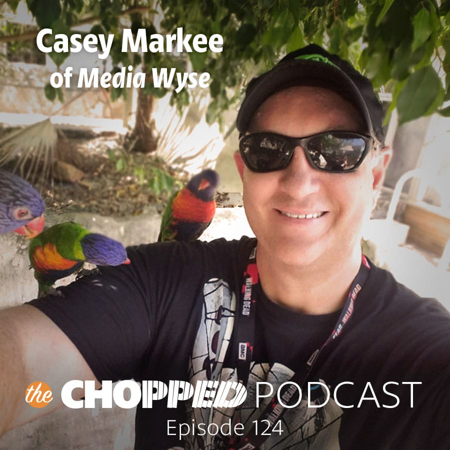 Today we welcome Casey Markee on the Chopped Podcast talking about how to Create SEO Momentum for Food Bloggers.