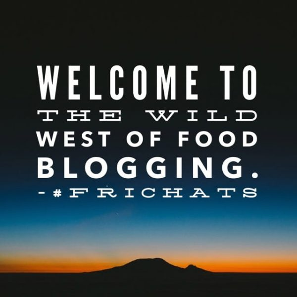 Welcome to the Wild West of Food Blogging, a Frichats discussion with Cara Ansis of Fork and Beans and Marly McMillen of Namely Marly.