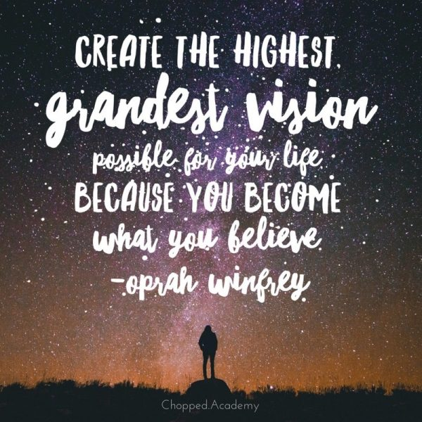 This quote from Oprah Winfrey on creating the highest, grandest vision of your life, fits perfectly with the FriChats discussion between Cara & Marly on why you need to let go of your Fear of Being a Leader (FOBAL)