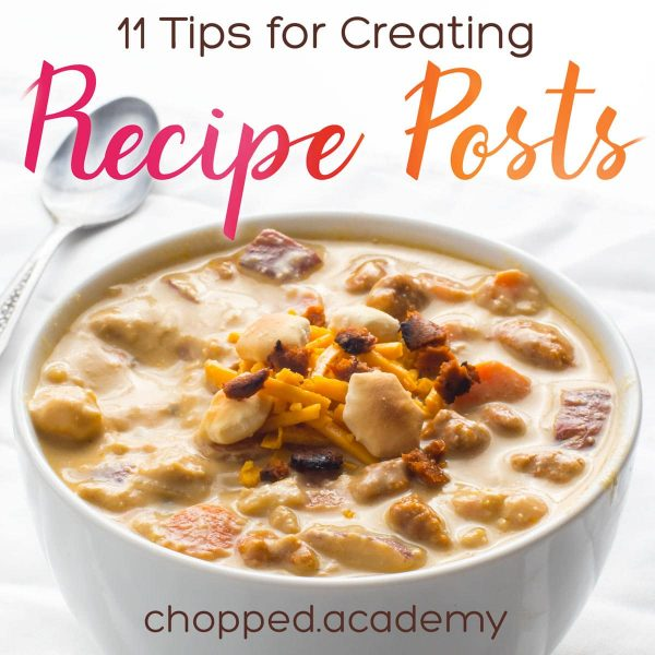 Listen in as Marly talks about the Top 11 Tips for Preparing Recipe Posts for Food bloggers. There are a lot of steps involved in creating recipe posts and Marly talks about best practices to help you refine your process.