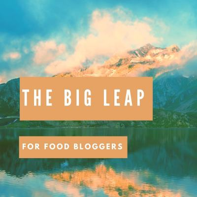 As food bloggers we are actively engaged in taking the big leap. Today Marly talks about the book by Gay Hendricks The Big Leap and the ways food bloggers can use key concepts from the book to live the dream!